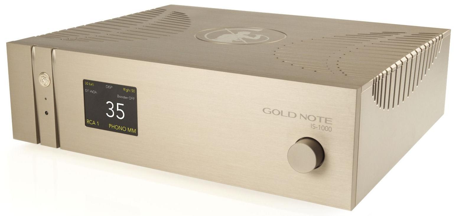 Интегральный усилитель airplay  IS-1000 Deluxe Line Gold