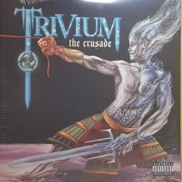 Виниловая пластинка Trivium, The Crusade (Electric Blue Vinyl/Gatefold)