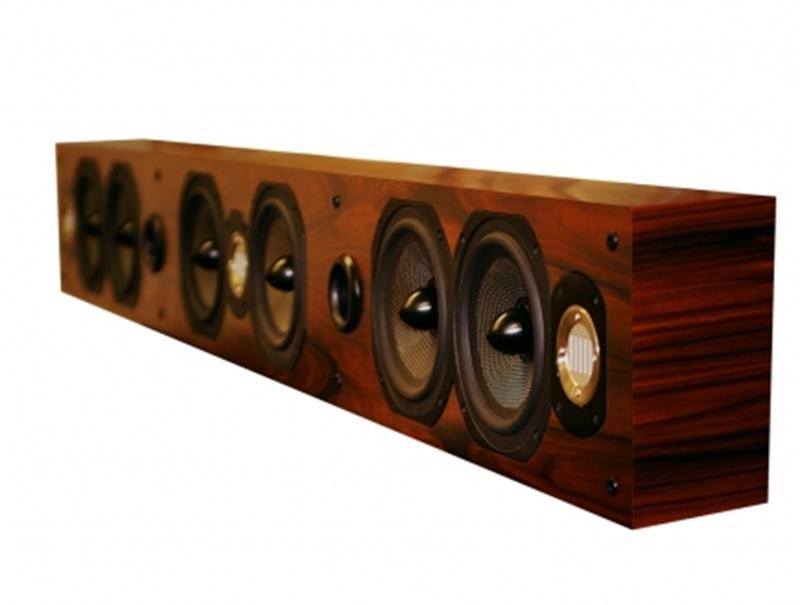 Центральный канал Legacy Audio SoundBar 7 black oak