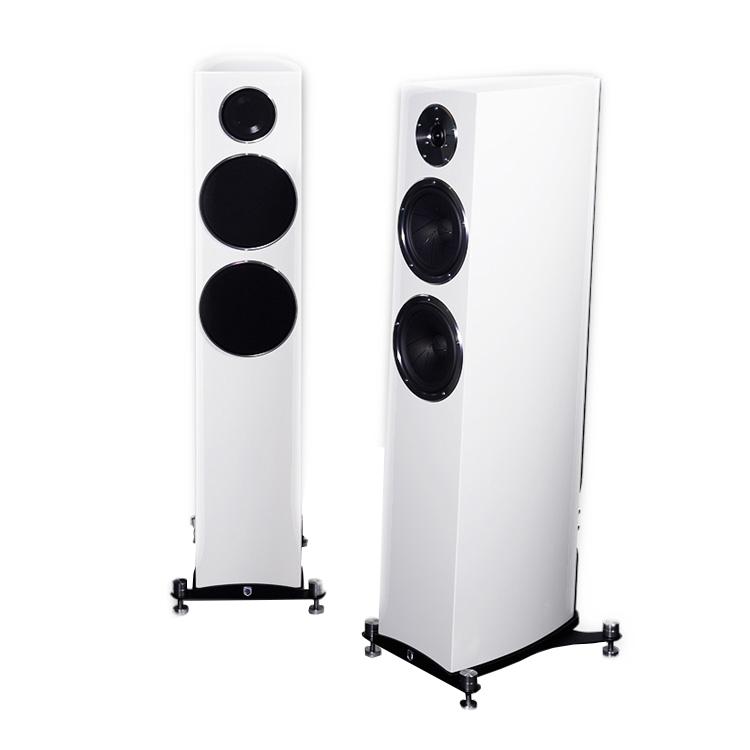 Напольная акустика Gato Audio FM-6 white high gloss