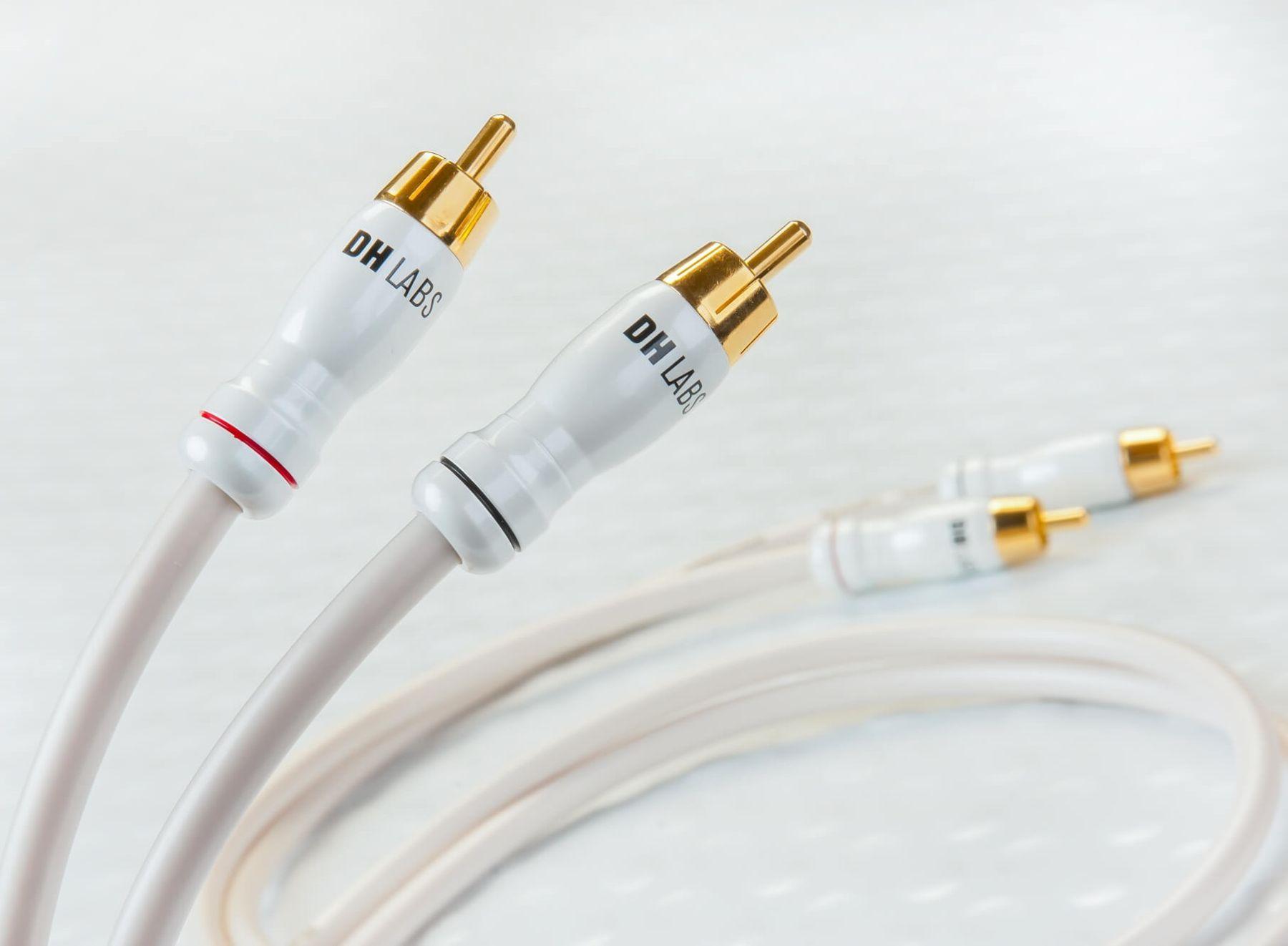 Кабель межблочный аудио DH Labs White Lightning interconnect RCA 2m
