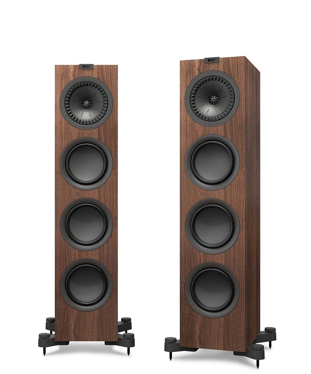 Напольная акустика KEF Q550 Walnut