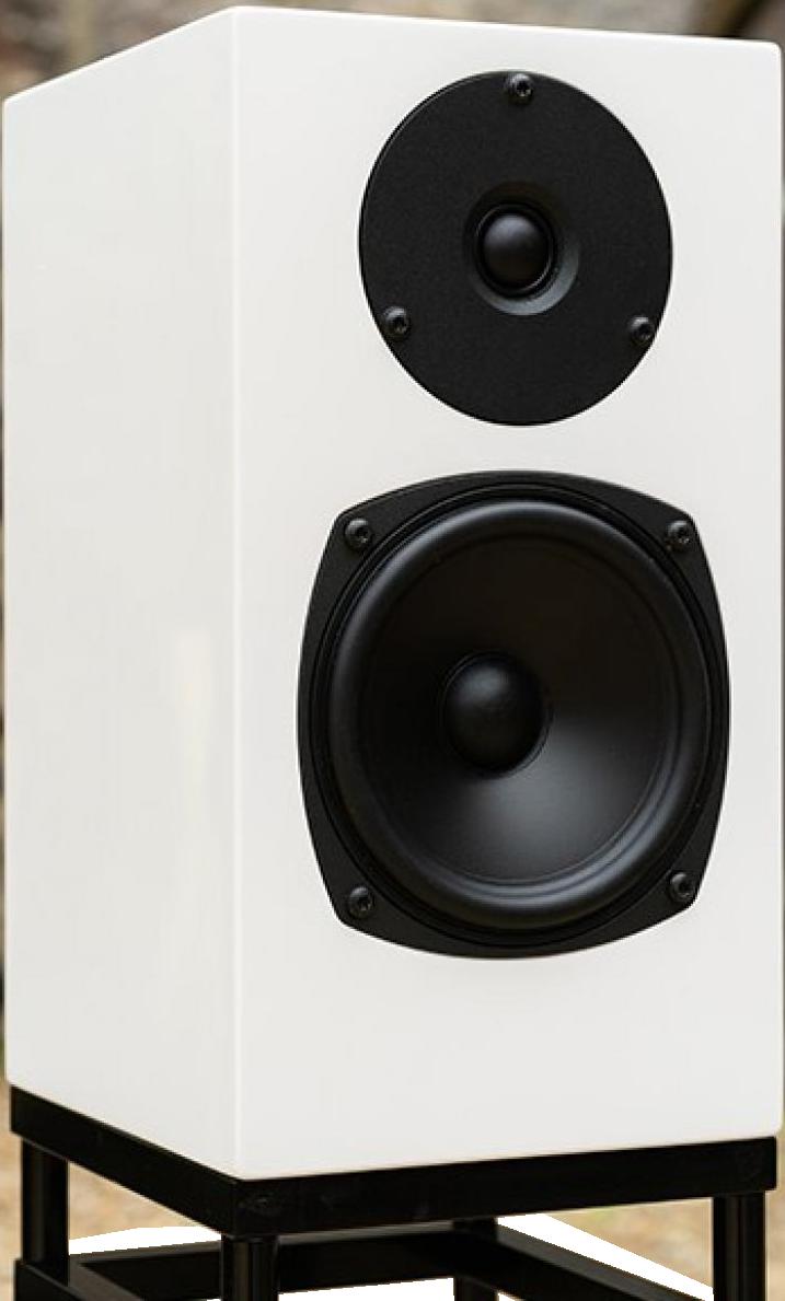 Полочная акустика Graham Audio Swisstone LS3 White