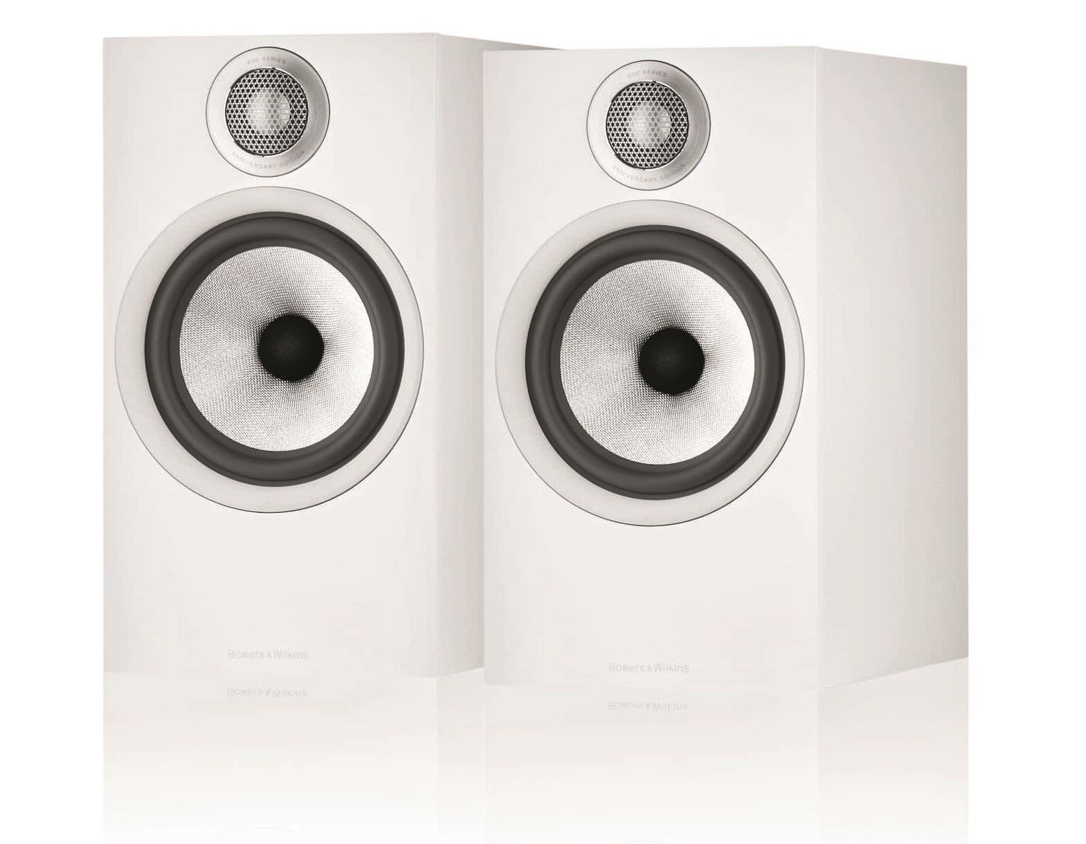 Полочная акустика B&W 607 S2 Anniversary Edition matte white