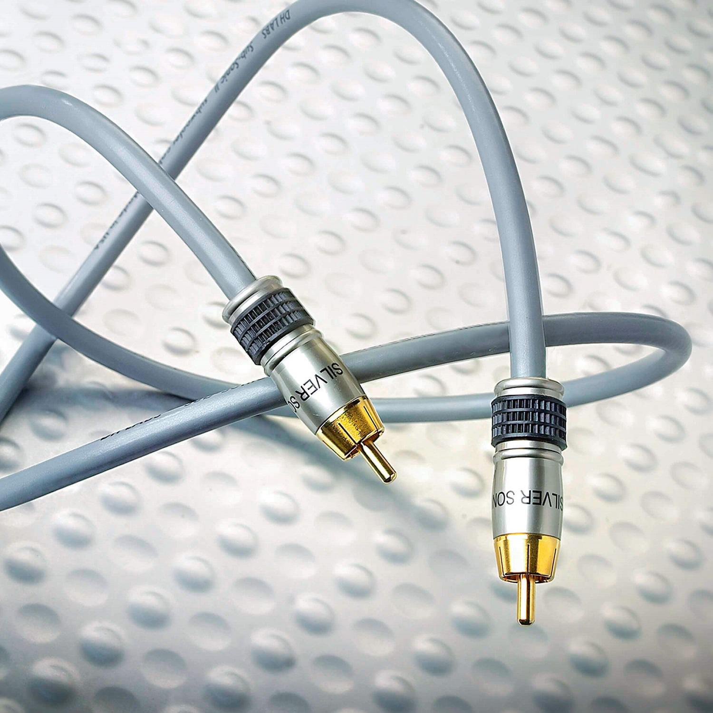 Кабель межблочный аудио DH Labs Subsonic subwoower RCA 0,5m