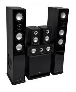 Комплект акустики MT-Power Elegance-2 black set 5.1