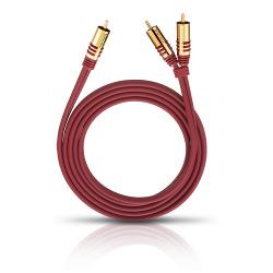 Кабель межблочный аудио Oehlbach NF Y-SUB red 2,0 m (20562)