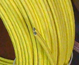 LAN кабель Silent Wire Patch cable Cat. 7, yellow, в нарезку