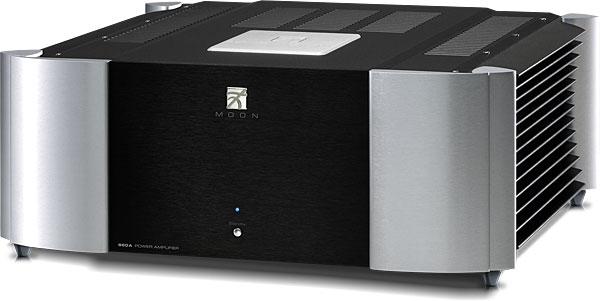 Усилитель мощности SIM Audio MOON 860A RS 2 TONE (Black/Silver)