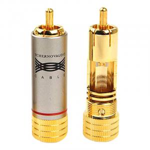 Разъем Tchernov Cable RCA Plug Classic G red