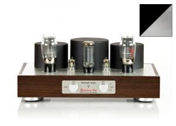 Ламповый усилитель Trafomatic Audio Experience One (black/silver plates)