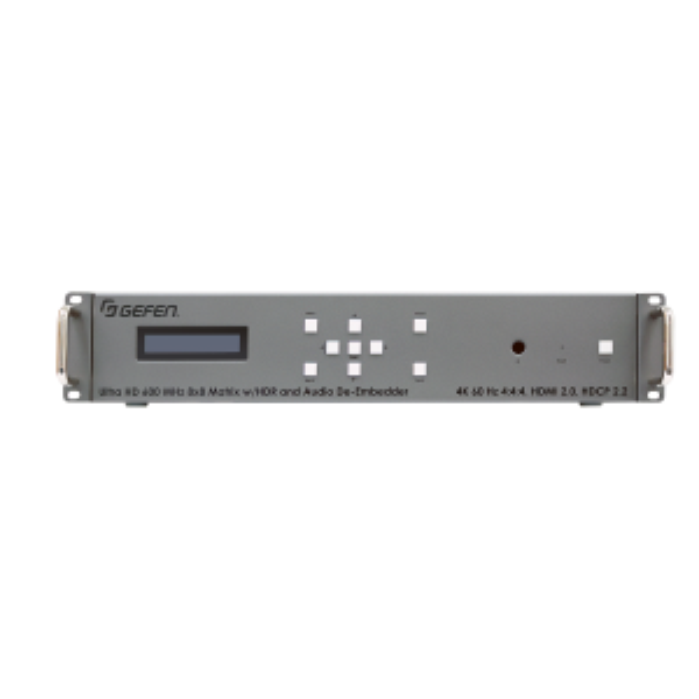 Матричный коммутатор Gefen EXT-UHD600A-88