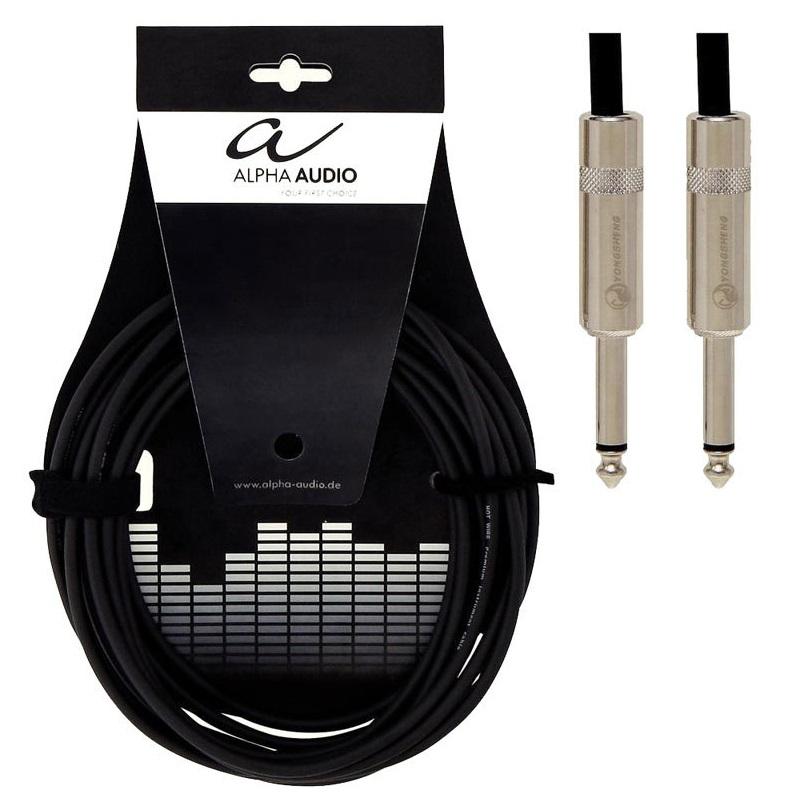 Инструментальный кабель Alpha Audio Pro Line monojackХ2, 6 м