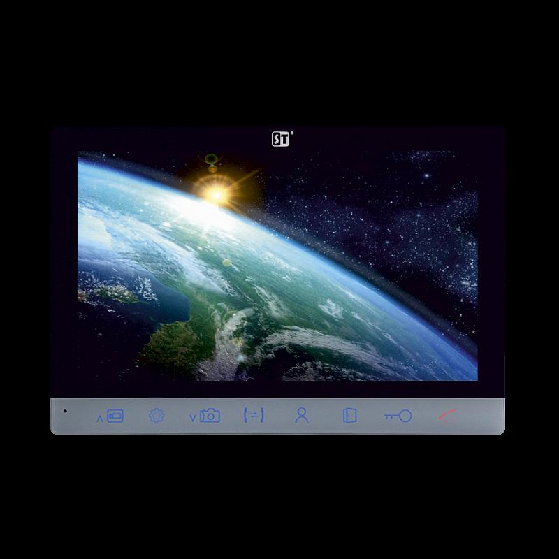 Видеодомофон SpaceTechnology ST-M201/7 (S/SD) ЧЕРНЫЙ