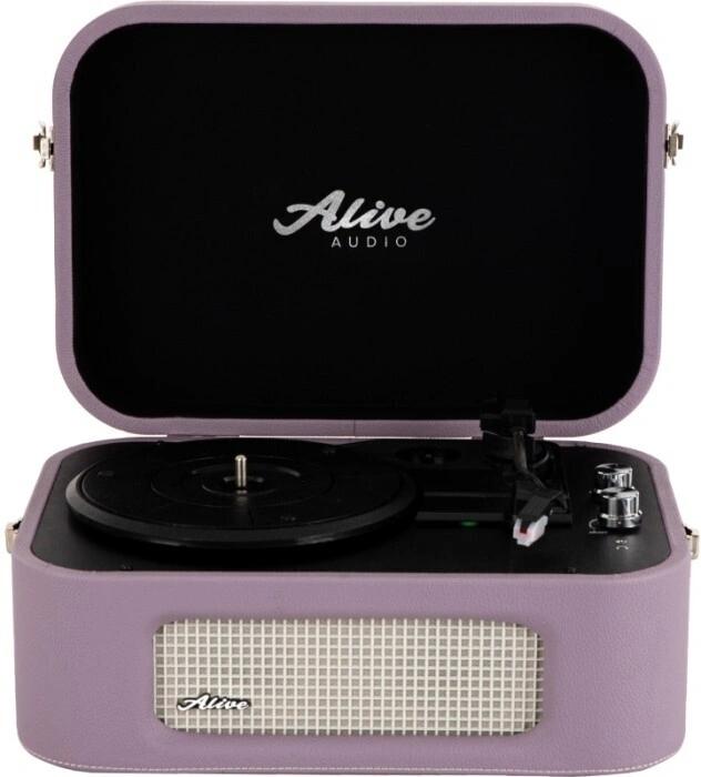 Проигрыватель винила Alive Audio STORIES Lilac