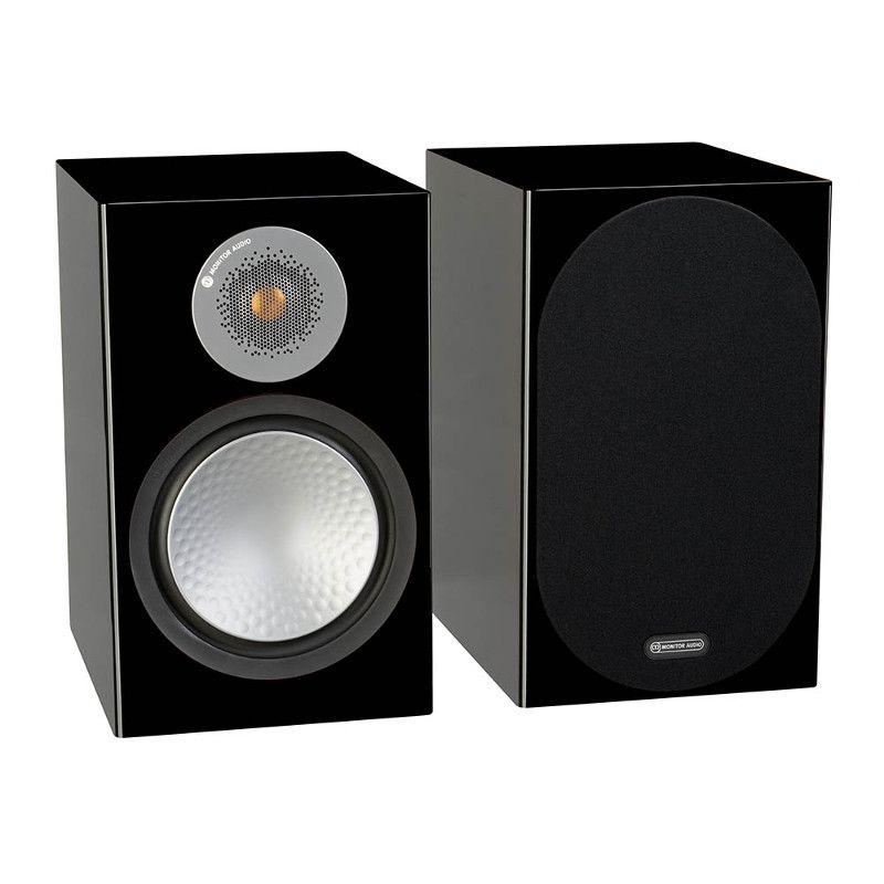 Полочная акустика Monitor Audio Silver 100 (6G) high gloss black