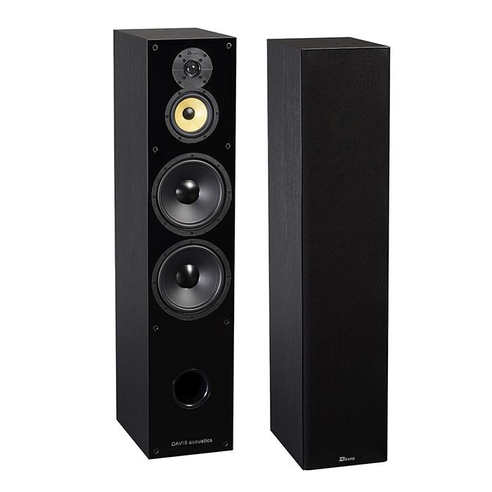 РАСПРОДАЖА Напольная акустика Davis Acoustics Balthus 90 black ash