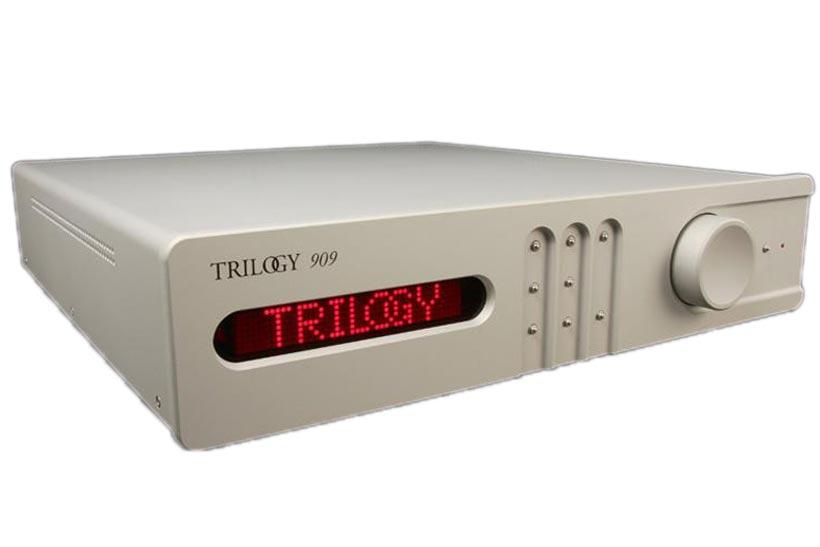 Стерео предусилитель Trilogy audio 909 Grey