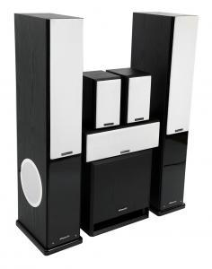 Комплект акустики MT-Power Elegance-2 black set 5.1 (white grills)