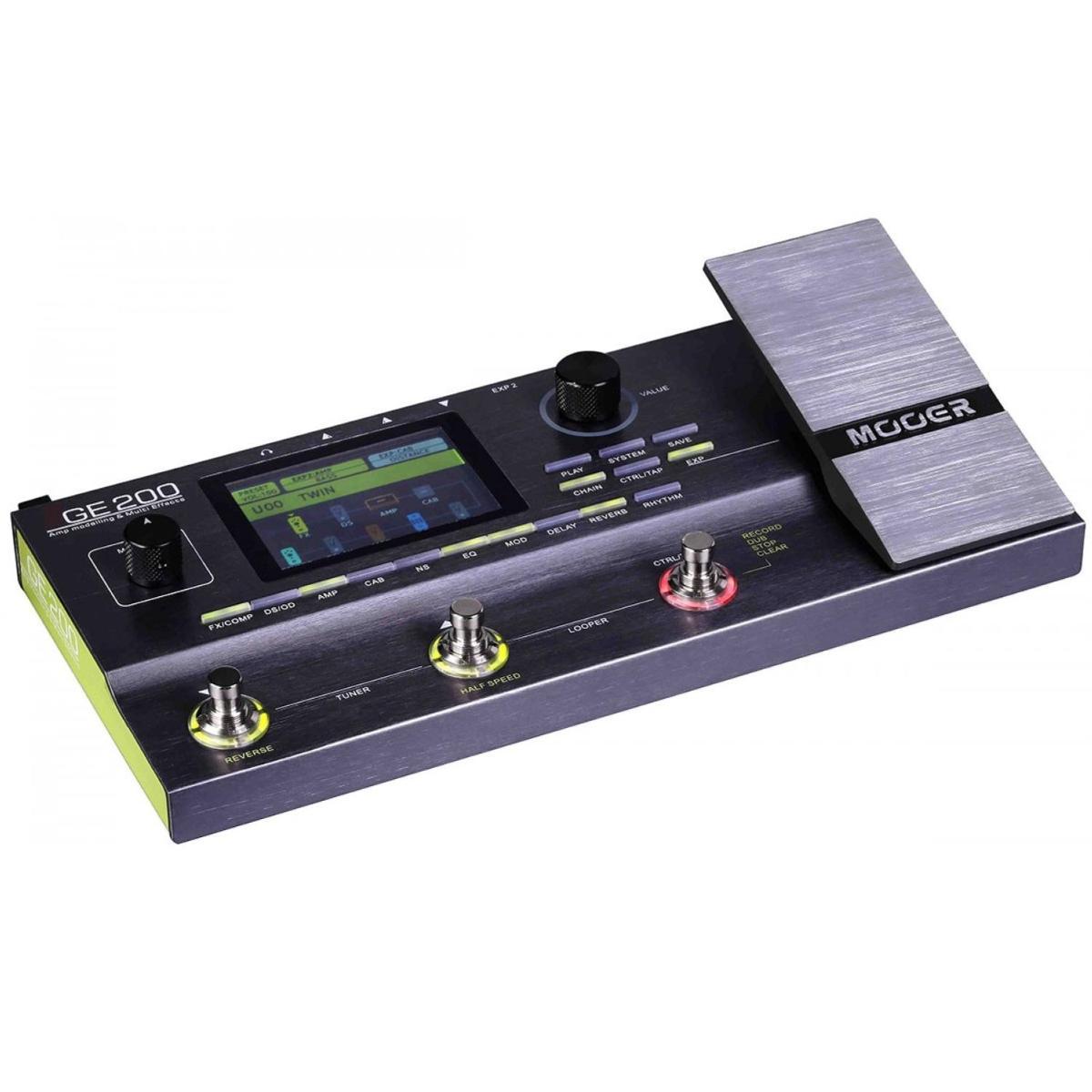 Гитарный процессор эффектов Mooer GE200