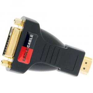 Переходник Eagle Cable DELUXE DVI -D (w) > HDMI (m) Adapter 1-Set, 30813711