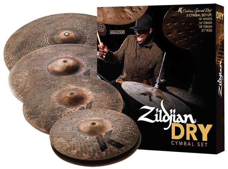 Набор тарелок Zildjian KCSP4681 K CUSTOM DRY CYMBAL SET