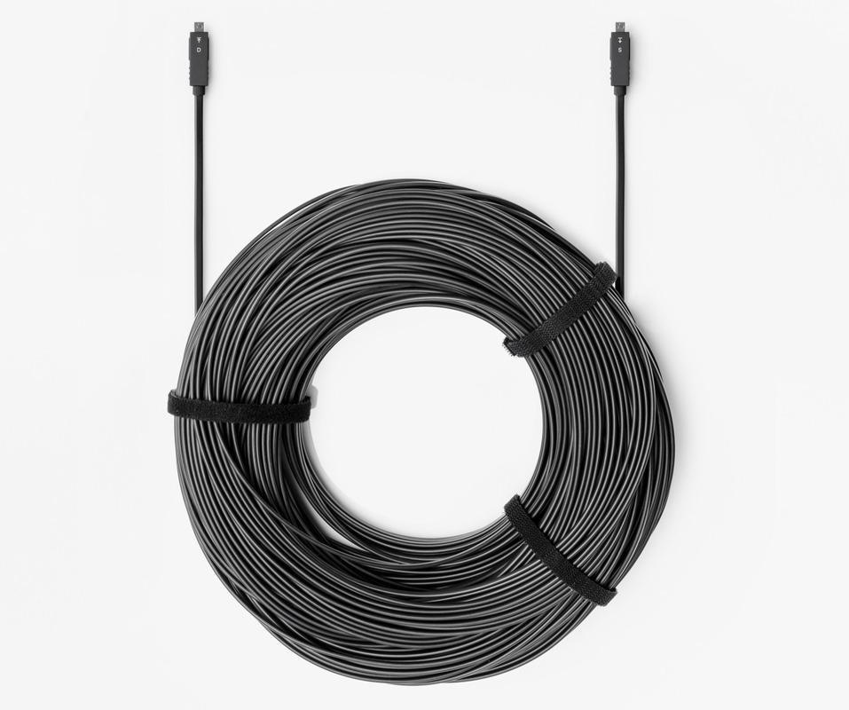 Оптоволоконный кабель Wize WHD20-DD-K-90 AOC HDMI 2.0 D-D (M-M) 90.0m