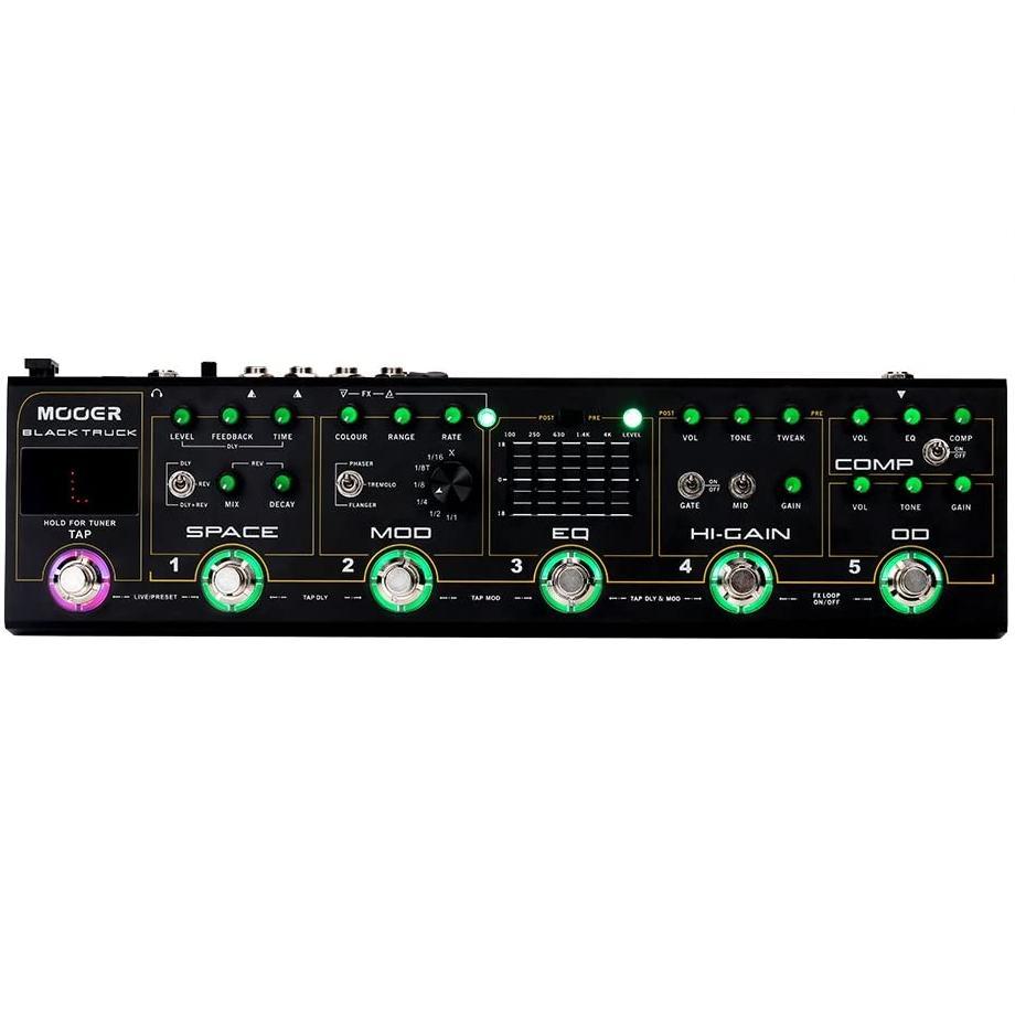 Гитарный процессор эффектов Mooer Black Truck