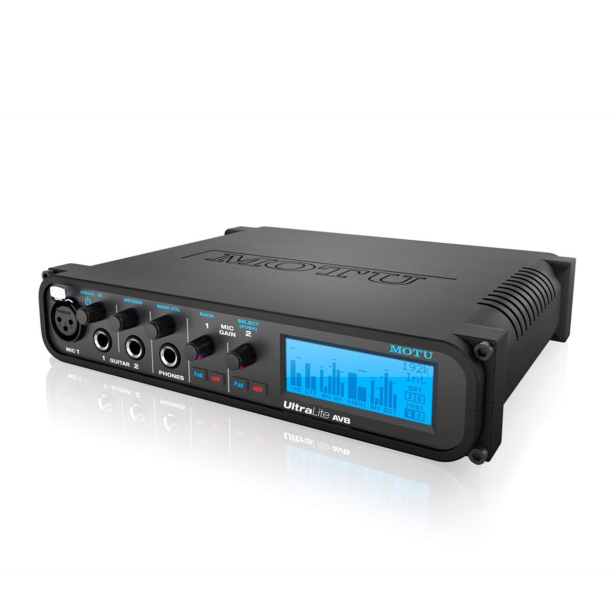Аудиоинтерфейс MOTU UltraLite AVB