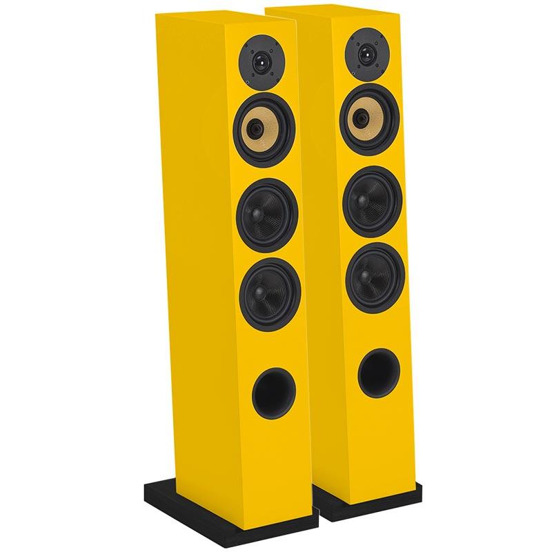 Напольная акустика Davis Acoustics Courbet №5 yellow