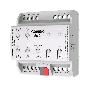 Интерфейс Zennio ZDI-DLB6 KNX-DALI DALIBOX Broadcast 6CH, 6-канальный, 20 ЭПРА на канал, 10 сцен на канал, ручное управление, LED индикация, питание 230В, на DIN рейку, 4.5TE
