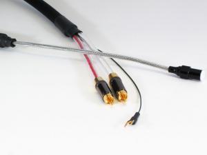Кабель межблочный фоно Purist Audio Design 25th Anniversary Phono Cable Din-RCA 1.2m Luminist Revision (Straigth)