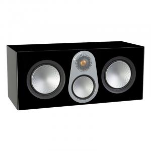 Акустика центрального канала Monitor Audio Silver C350 (6G) black high gloss