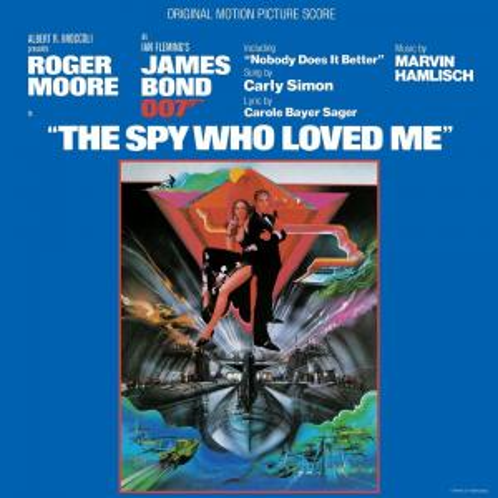 Виниловая пластинка Marvin Hamlisch, The Spy Who Loved Me (Original Motion Picture Score)
