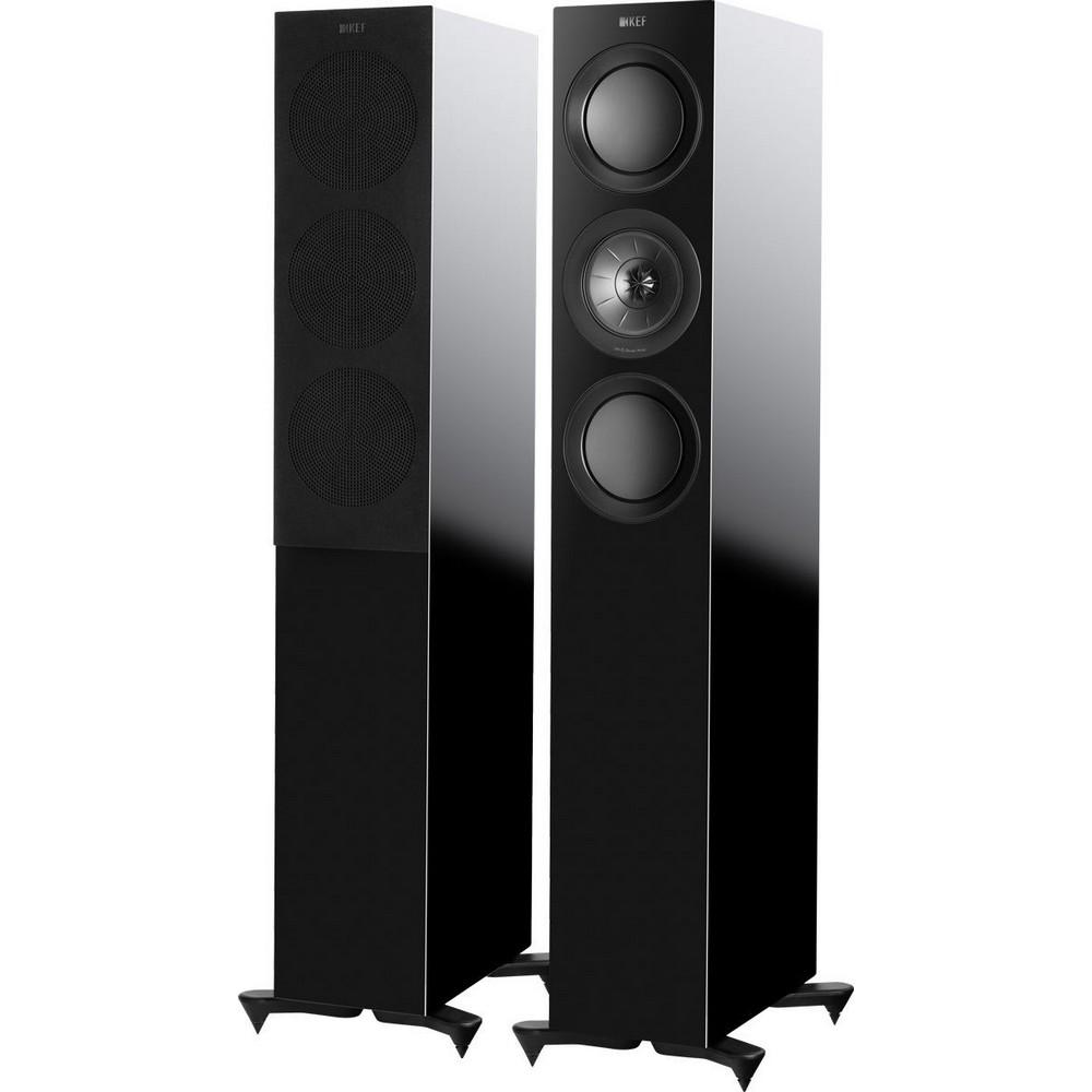 Напольная акустика KEF R5 Gloss Black