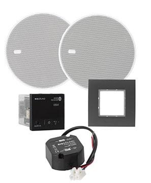 "Комплект Eissound 52959 In-Wall Bluetooth Audio receiver 5"", black"