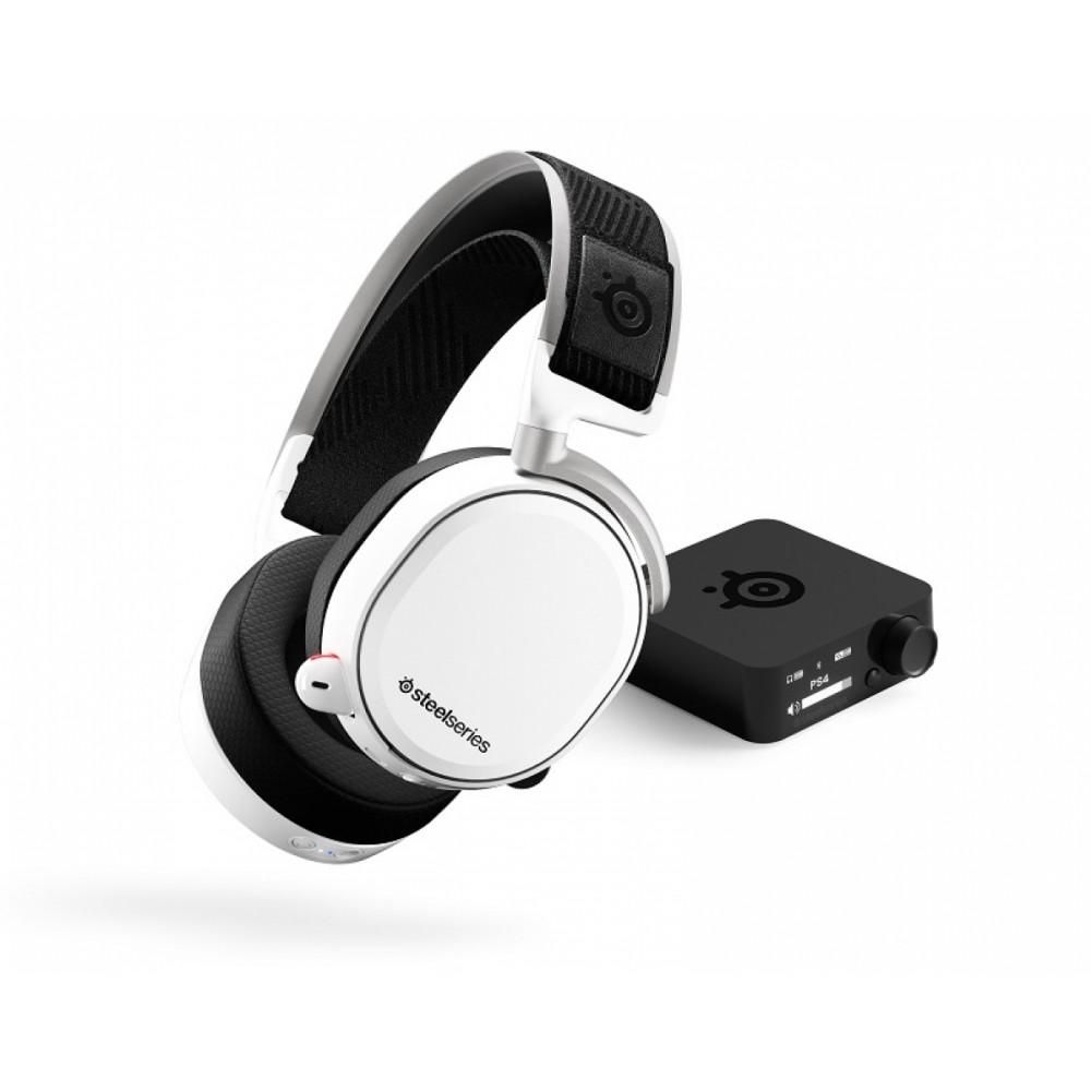 Наушники с микрофоном SteelSeries Arctis Pro Wireless White