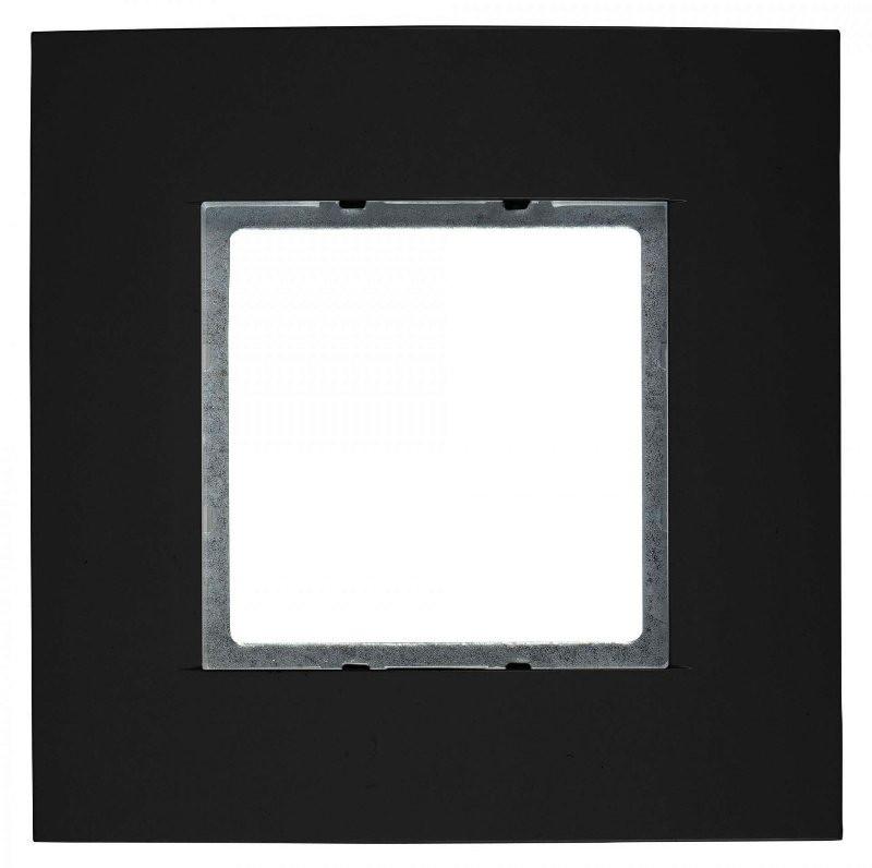 Рамка одноместная Eissound 19152 black