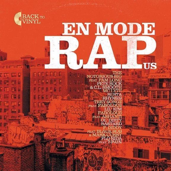 Виниловая пластинка En mode rap US
