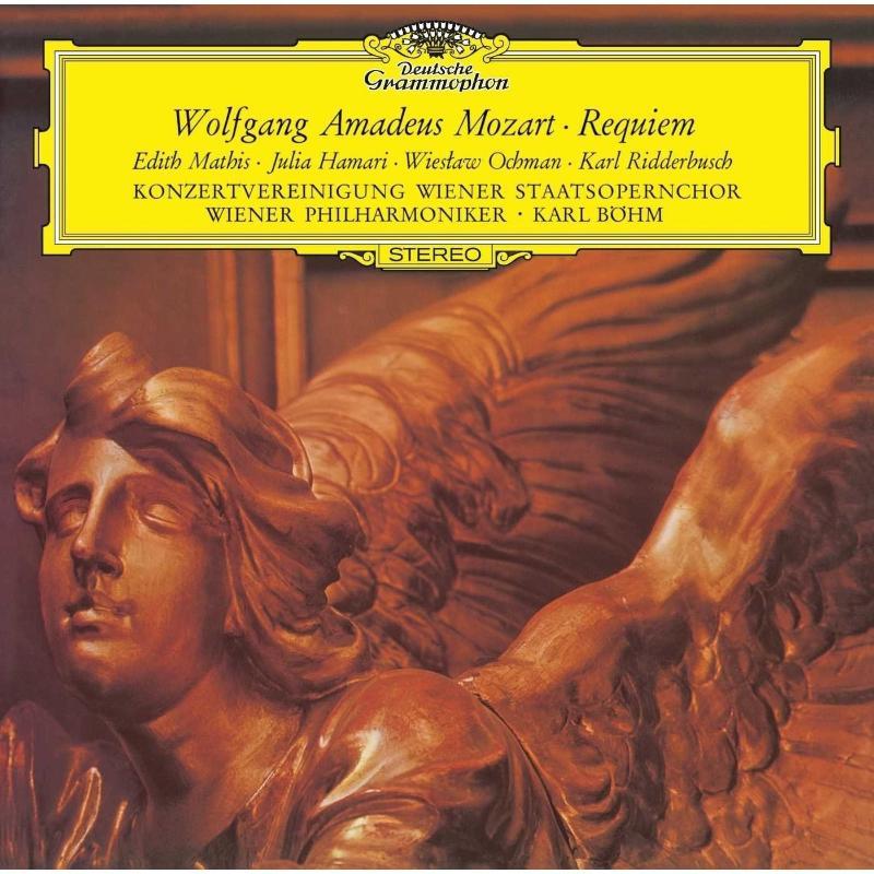 Виниловая пластинка Edith Mathis, Julia Hamari, Wieslaw Ochman, Karl Ridderbusch, Wiener Philharmoniker, Karl Bohm, Mozart: Requiem In D Minor, K.626