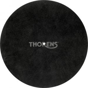 Слипмат Thorens Leather turntable mat black