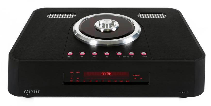 CD/SACD проигрыватель Ayon Audio CD-10 II Signature black