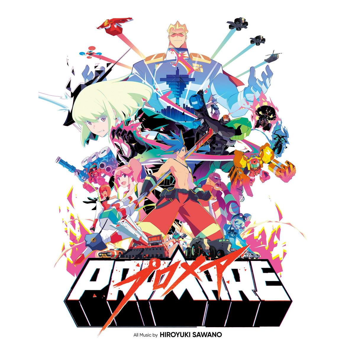 Виниловая пластинка Hiroyuki Sawano - Promare (Original Soundtrack) (Limited Half White Half Red Vinyl)