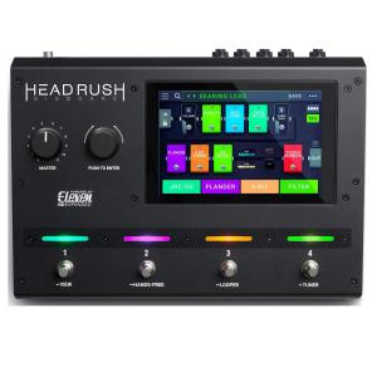 Напольный процессор эффектов HeadRush Gigboard