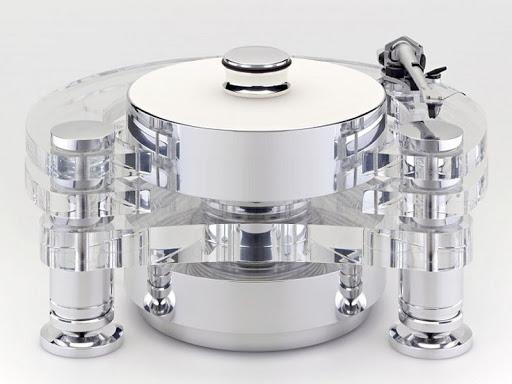 Стол винилового проигрывателя Transrotor ORION REFERENCE FMD с подготовкой под тонарм 9 дюймов, Блоком питания Konstant FMD и прижимным диском