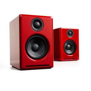 Полочная акустика Audioengine A2+ BT Red
