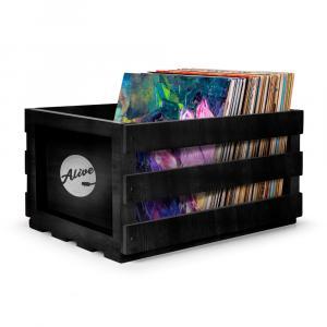 Ящик для 80 пластинок Alive Audio Nature Black