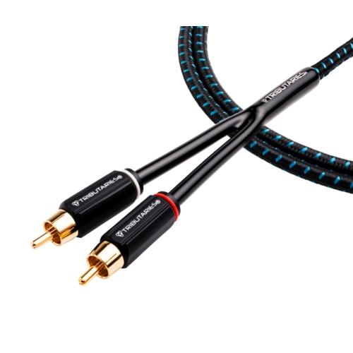 Кабель межблочный аудио Tributaries 4 Audio 8.0m (4A-080B)