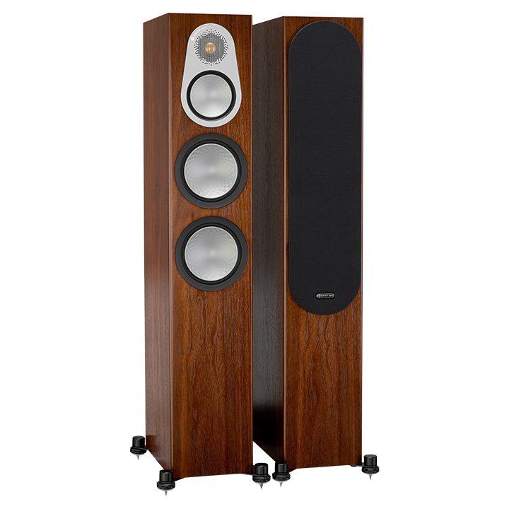 Напольная акустика Monitor Audio Silver 300 (6G) walnut