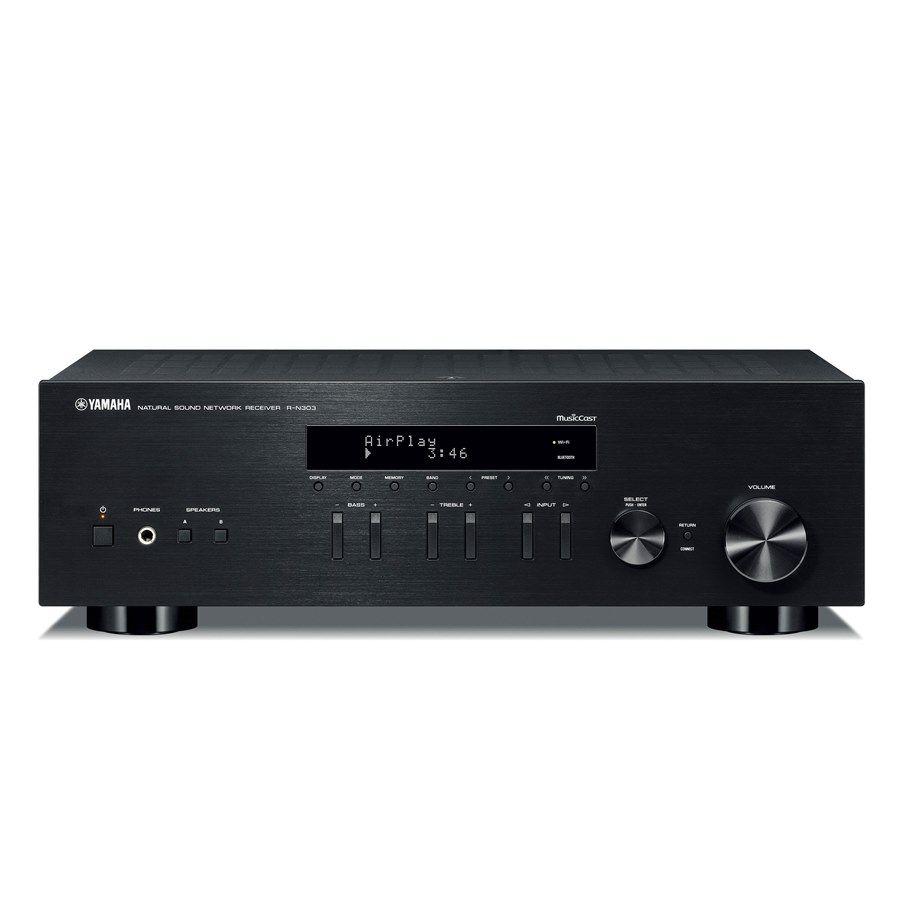 Стереоресивер Yamaha R-N303 BLACK